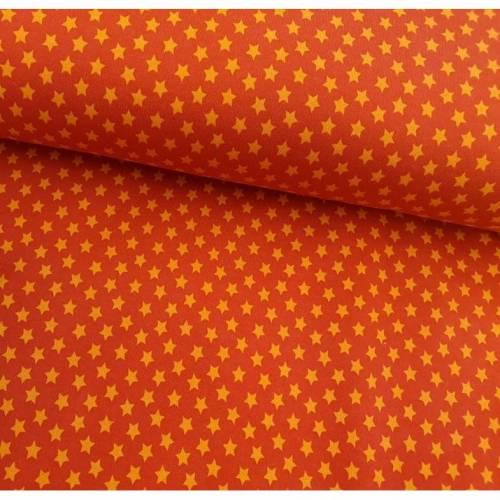 Wintersweat Colours Sternchen rot/orange