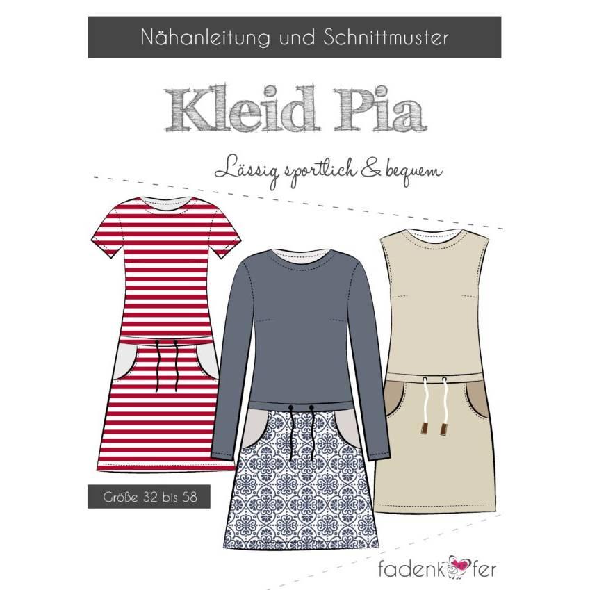 Fadenkäfer-Schnittmuster Kleid Pia Damen  Bild 1