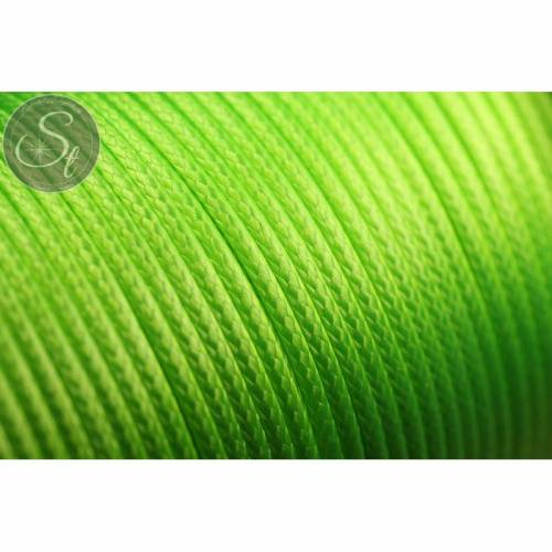 5 Meter gelbgrüne gewachste Kordel ~1,5-2mm