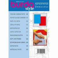 Burda Kopierpapier blau/rot Bild 1