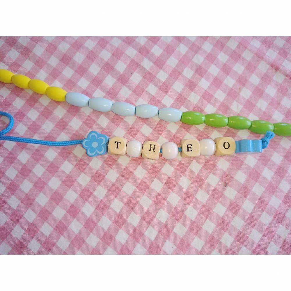 Rechenkette Rechenhilfe Schulanfang mit Wunschnamen Bild 1