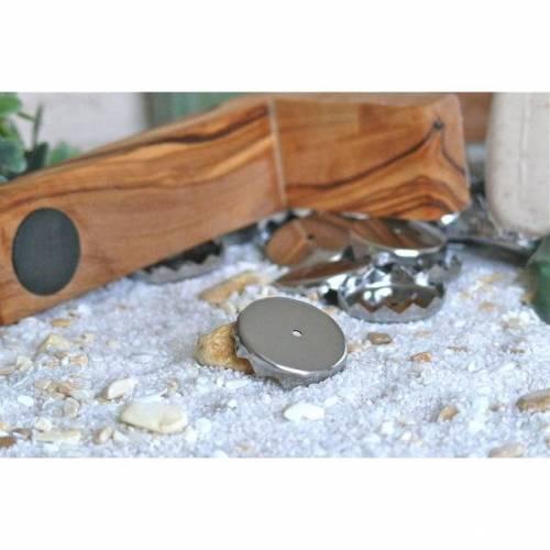 Ersatzplättchen Magnetseifenhalter 2 Stück Seifenhalter für Seife Seifenplättchen Plättchen halten am Magneten für trockene Seife