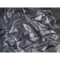 Pailletten-Stoff,Pailletten,Party,Abendkleid,Coktailkleid,Stickerei-Spitze,Wäschestoff,Lace,Chantilly,Lingerie, 77-107 fb. schwarz Bild 1