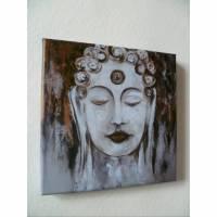 Druck Buddha Leinwanddruck Buddha print Bild 1