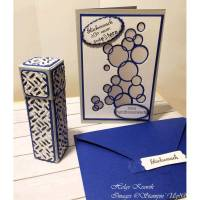 Für frisch gebackene Großeltern: Glückwunschkarte und Geschenkbox Bild 1