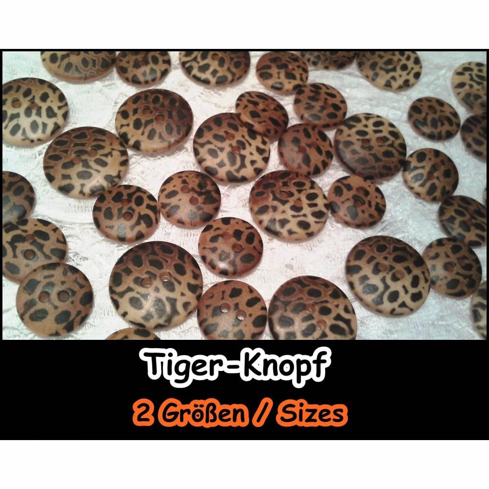 Knöpfe *Wild Thing*, Knopf, Kostüm, Jacke, Hosenanzug, Tasche, Schmuck, Weste, Accessoires, Casual, Leopard 5-306 Bild 1