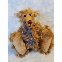 Bär Zausel, Künstlerbär, handgefertigt 20cm Bild 1
