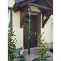 Regenkette, Rain Chain für kleines Dach oder Vordach Bild 1