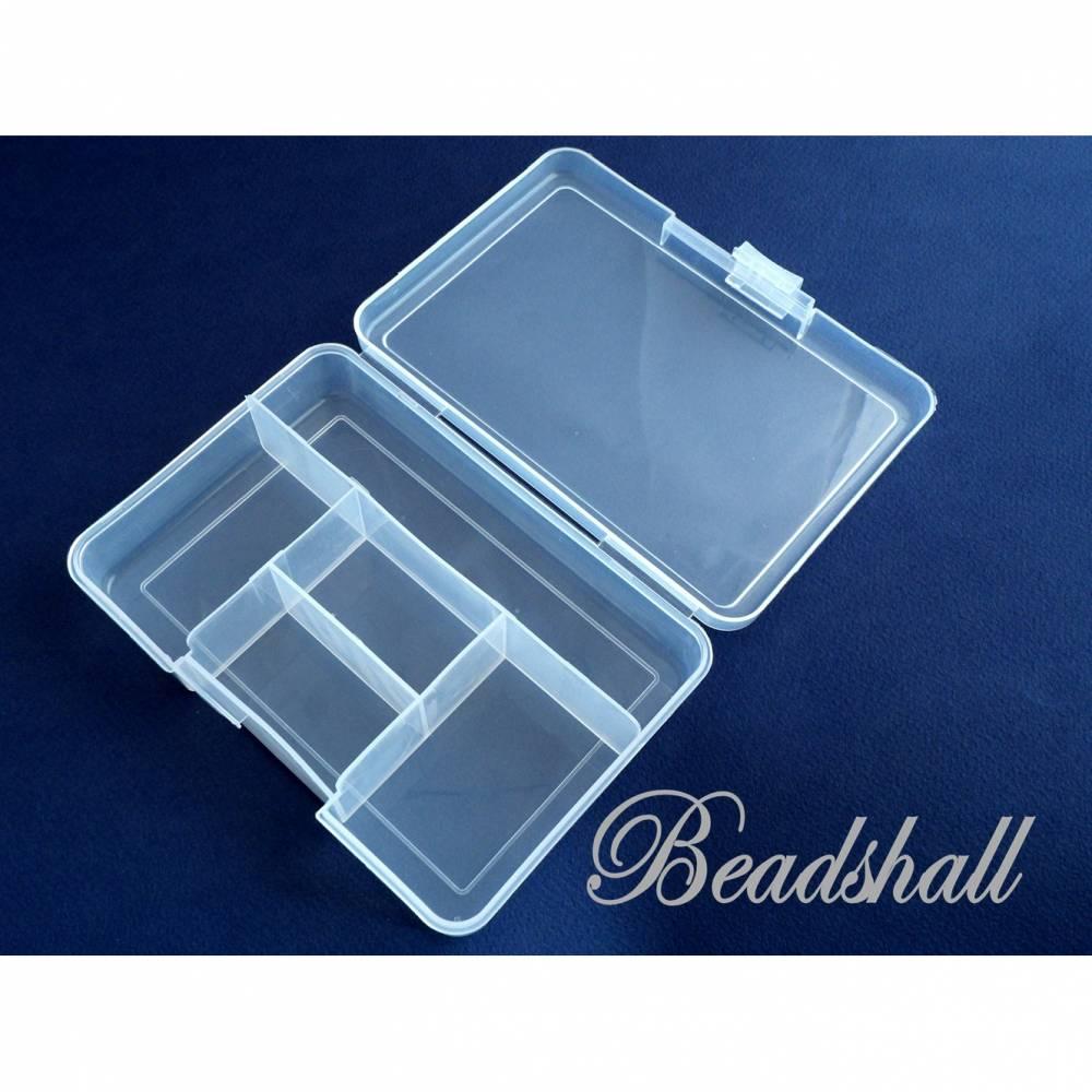 1 Sortierbox mit 5 Fächern Aufbewahrungsbox Utensilo Aufbewahrung Material Bild 1