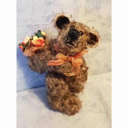 Bär Charmy, Künstlerbär, handgefertigt, ca 12cm
