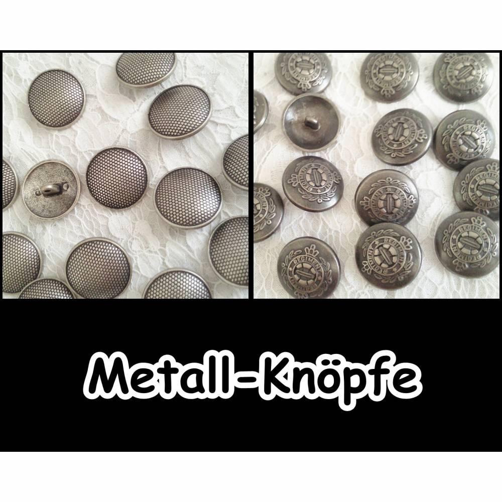 Metall-Knöpfe,Button,Antik,Mittelalter,Reenactment,LARP,Wappen,Ritter,Historisch,Militär,Tracht,Uniform,Casual, 5-332+334 Bild 1