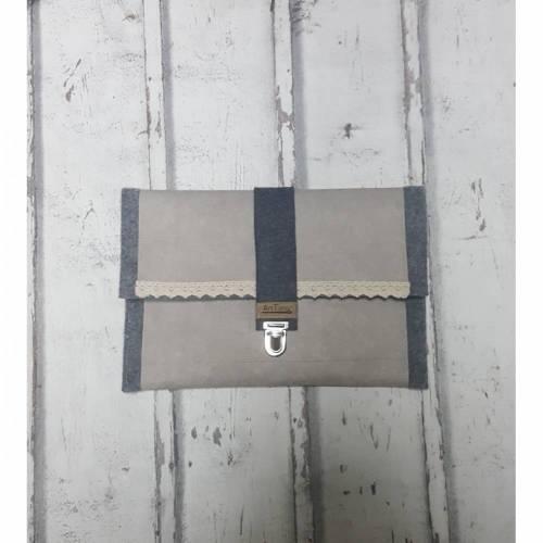 Tablet - iPad -  Notebook Tasche WOLL-FILZ