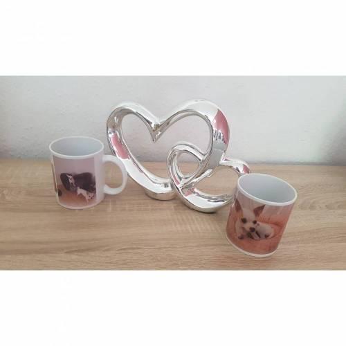 Tasse - Mit Ihrem geliebten Vierbeiner, Kindern, Hochzeit, ... - Wunschdruck