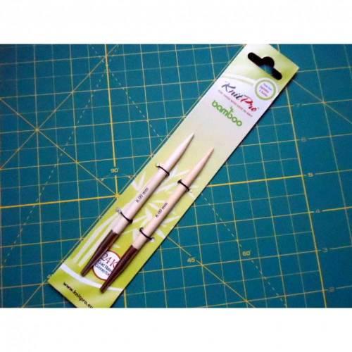 Knit Pro bamboo austauschbare Nadelspitzen 6,0