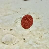 Ring mit Rochenleder, elegantes Geschenk für sie oder ihn Bild 1