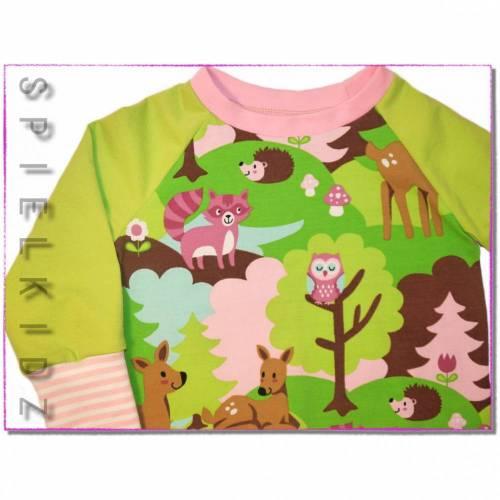 Langarmshirt Pullover Shirt Waldfreunde Mädchen
