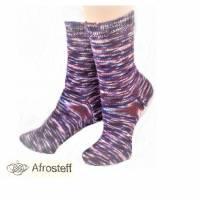 Socken gestrickt Gr. 37-39/ Wollsocken aus handgefärbter Sockenwolle  Bild 1