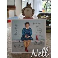 """Postkarte    """"Keine Frau ist perfekt....aber die über 60 sind verdammt nah dran"""" Bild 1"""