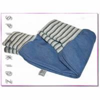 Mitwachshose Pumphose Kinder Jeans 3x grau Bild 1