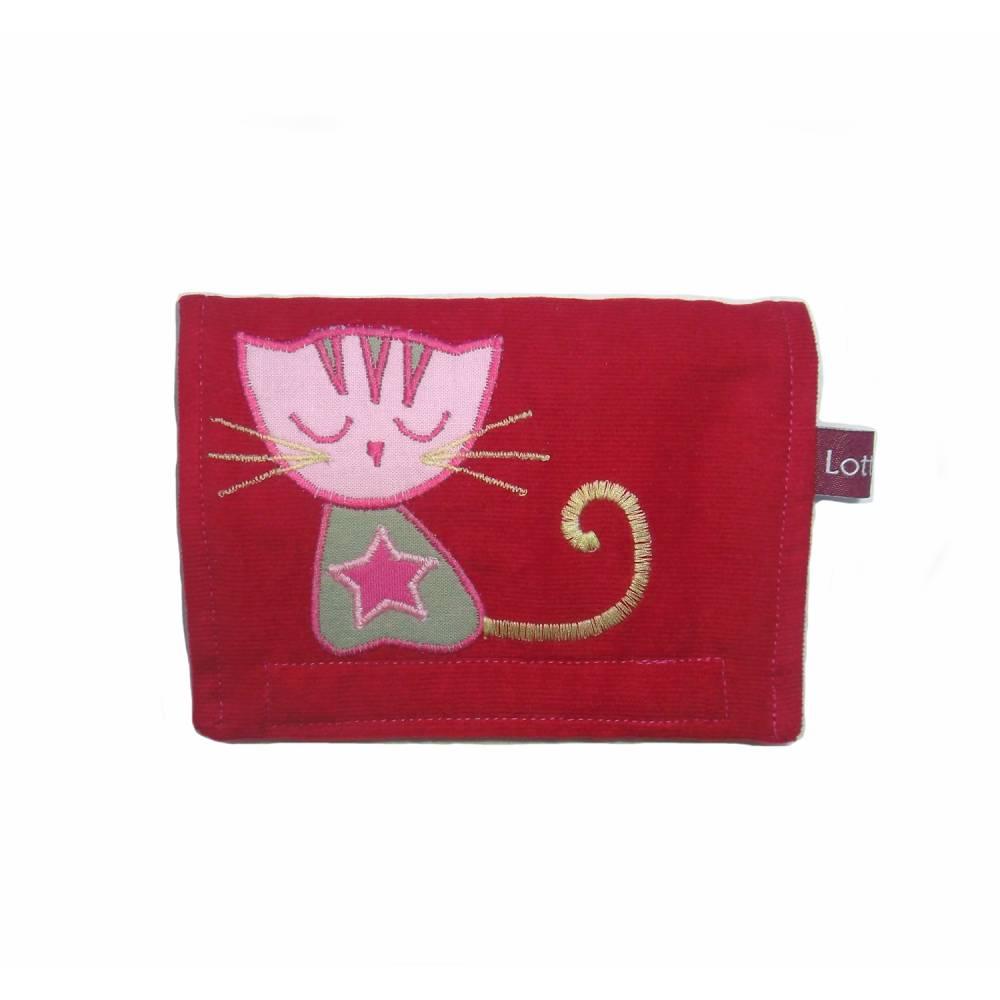 Geldbörse Katzenstern für Mädchen Bild 1