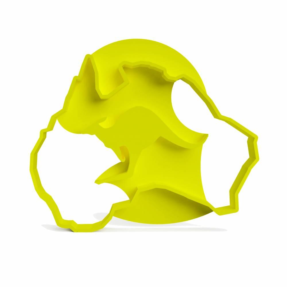 3DREAMS Keksausstecher Australien │ Kangoroo Australia Cookie Cutter │ Ausstecher Känguru │ Ausstechform Australien│ Down Under │ aus Bio Kunststoff │ Made in Germany  Bild 1