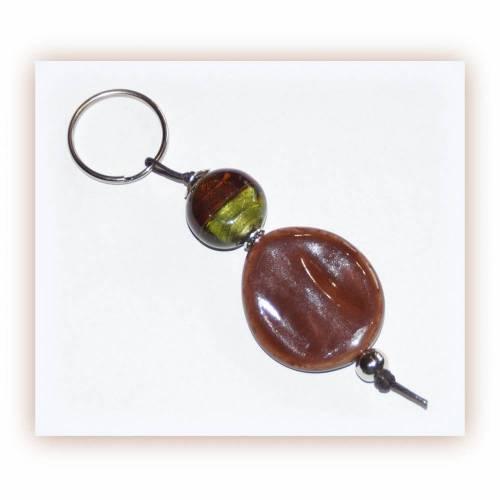 Schlüsselanhänger auch für den Mann braun und oliv