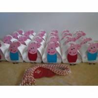 Adventskalender Peppa Pig, Schwein,Wutz,Weihnachtskalender,Kinder,Zierschachteln,Boxen,Schachteln zum  Befüllen,Papier, Mädchen,Advent,Weihnachten,Jungen,Kinder, Bild 1