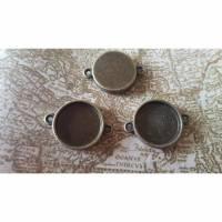 6 Verbinder- Fassungen 16mm- -bronze- Bild 1
