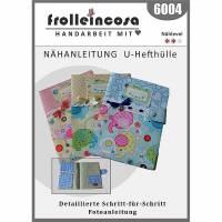 """Nähanleitung in Papierform """"U-Hefthülle"""" Bild 1"""