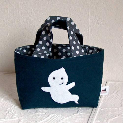 Kindertasche kleiner Geist | Wendetasche | Personalisiert | Geschenke für Kinder