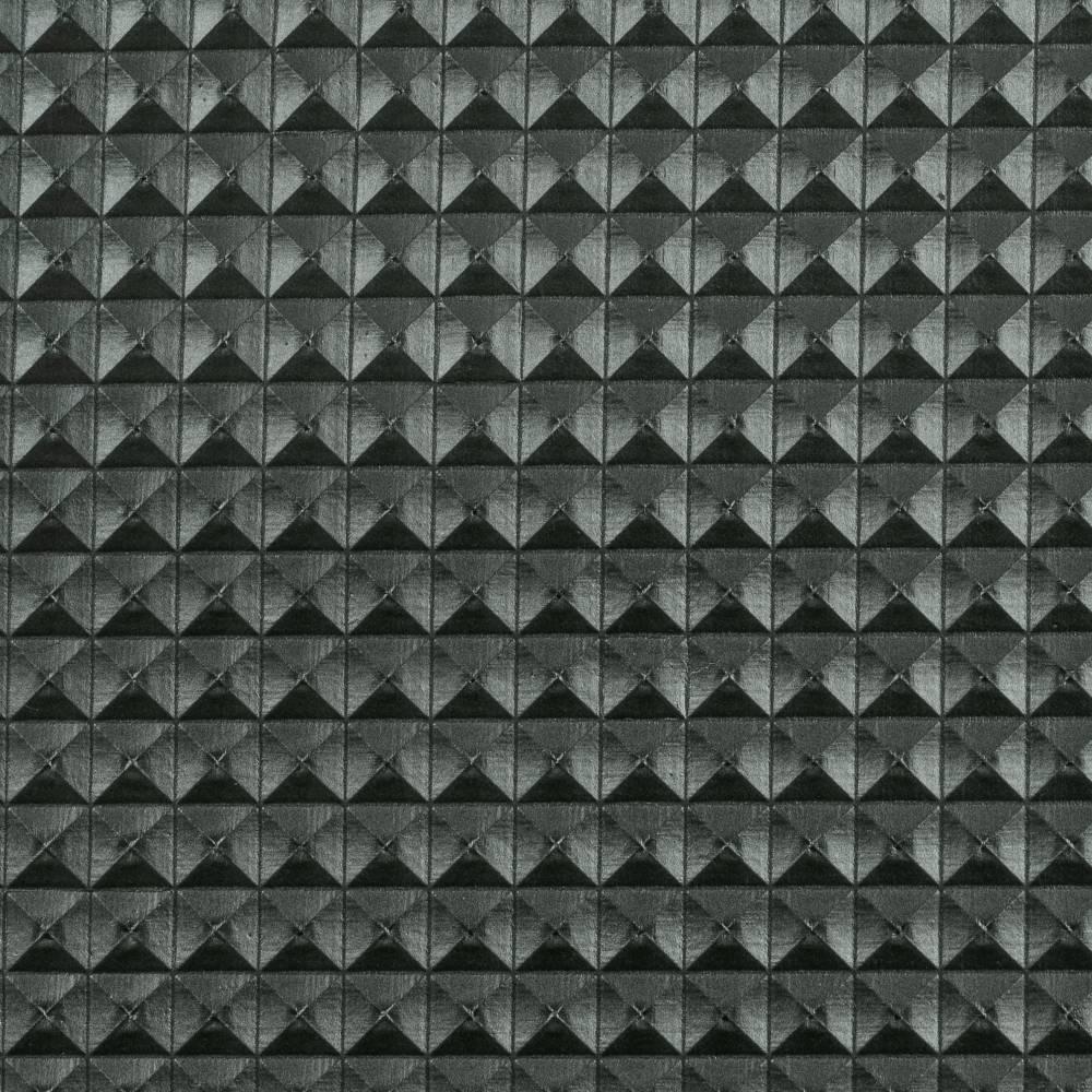 "13.90EUR/m Kunstleder ""Xenia"" in Nietenoptik 8mm in rauchblau Bild 1"