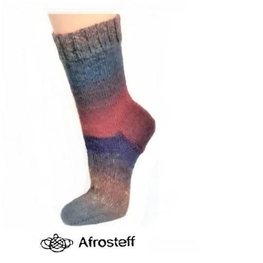 Socken gestrickt Gr. 37-39/ Wollsocken  Bild 1