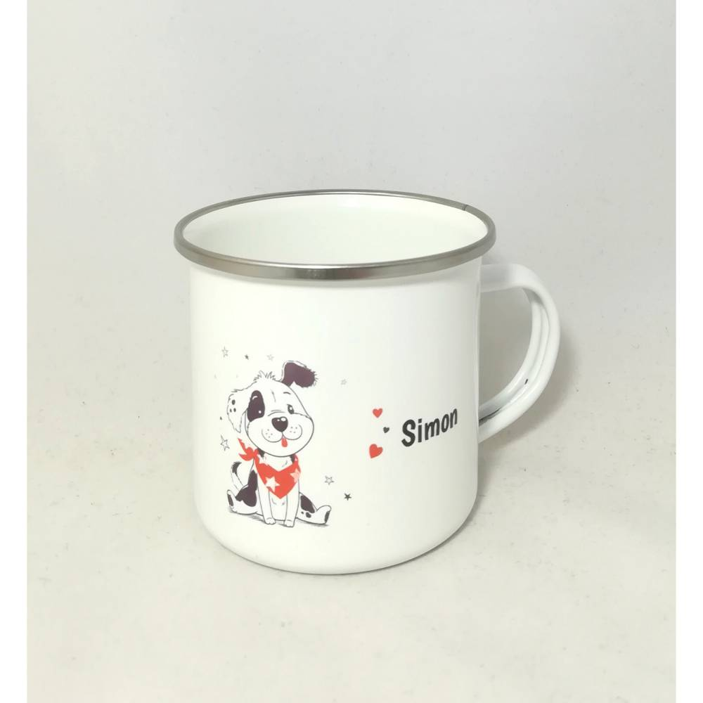 """Tasse mit Namen personalisiert Motiv """"Hund"""" Bild 1"""