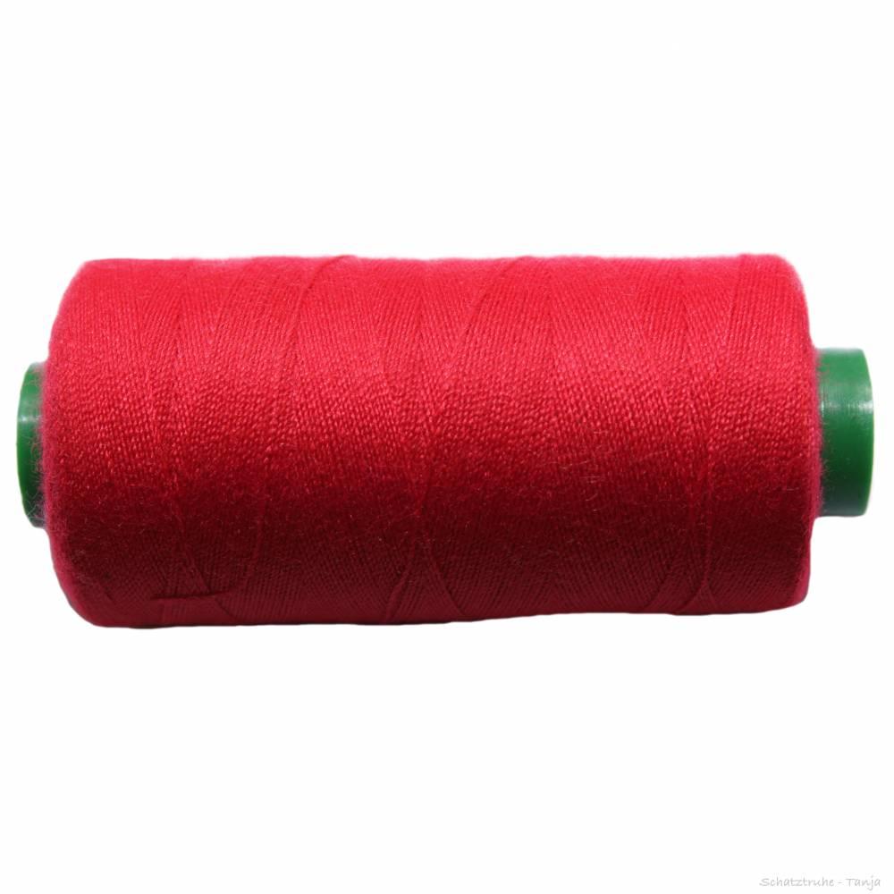 Nähgarn als Universalgarn in rubinrot aus Polyester 500 m 40/2 Bild 1