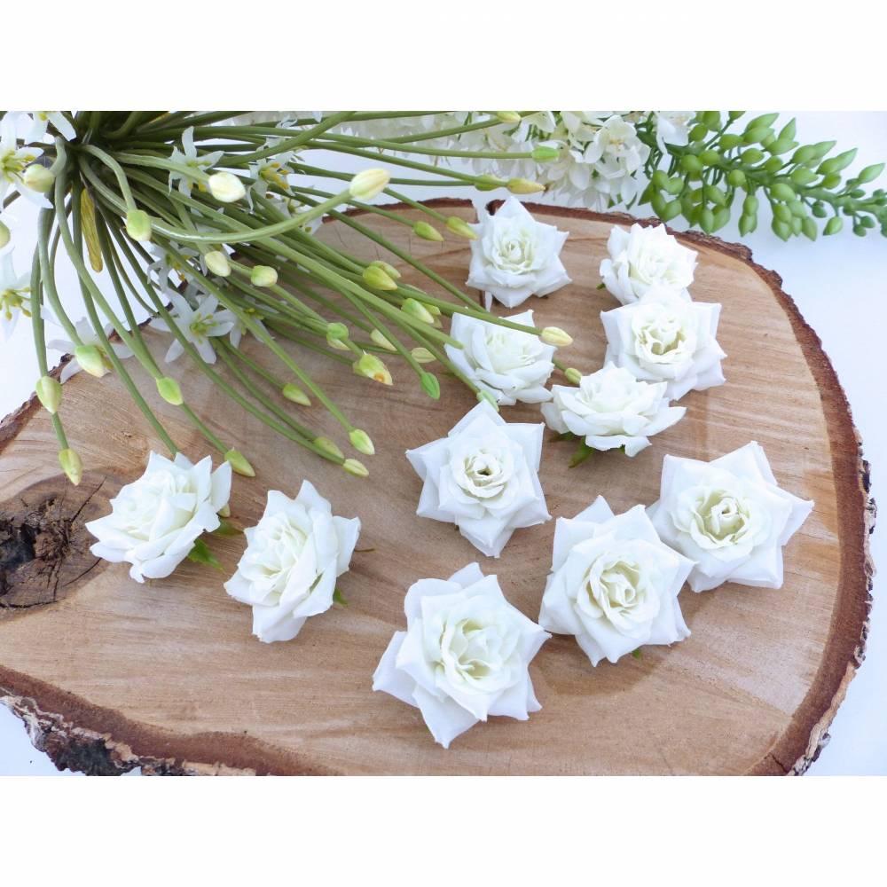 Deko-Rosen, Streudeko, Hochzeit-Tischdeko, Floristik-Blumen Bild 1