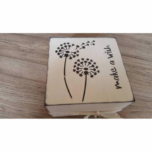 Holzkästchen -Pusteblume-