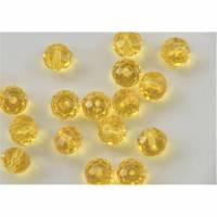 10 Fasetteperlen ,10x8 mm Glasperlen Glasschliffperlen Nr. 106 Bild 1