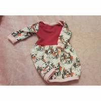 Handmade Kleid ,  ballonkleid , Katzen  Bild 1