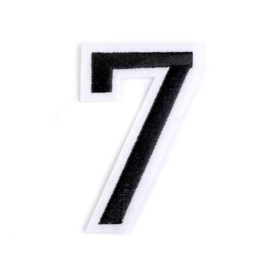 "Applikation Zahl ""7"" Bild 1"