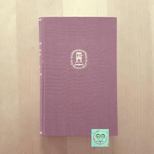 Antiquariat, Buch - Theodor Fontane - EFFI BRIEST - Roman,  Büchergilde Gutenberg