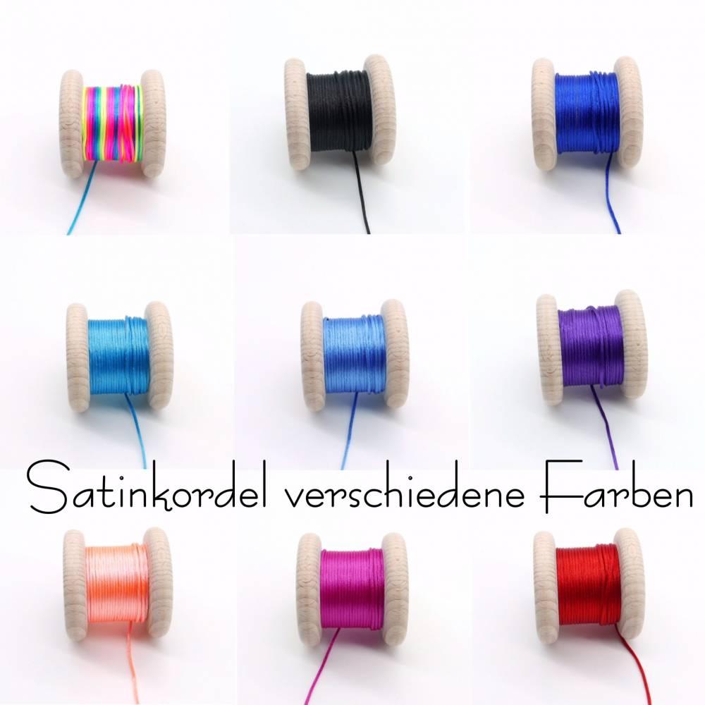 5 Meter Satinkordel, 1,5 mm, verschiedene Farben  Bild 1