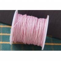 3 m Wachsband 1 mm rosa Bild 1