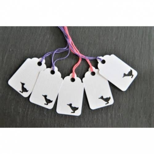 5 kleine Geschenkanhänger Ente Anhänger