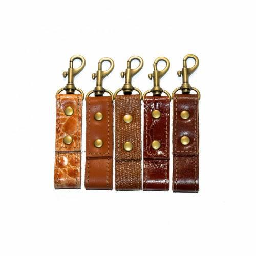 Elegantes kleines Schlüsselband Leder für SIE & IHN