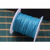 3 m Wachsband 1 mm dunkelblau Bild 1
