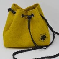 Trachtentasche / Dirndltasche Filz Bild 1