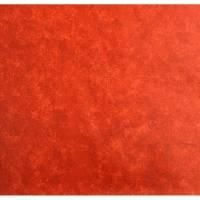 Beschichtete Baumwolle Batik rot Bild 1