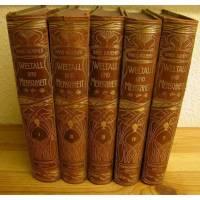 Weltall und Menschheit - 5 Bände 1902/05 - Geschichte der Erforschung der Natur  Bild 1