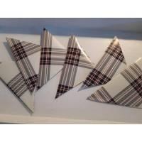 6 Spitztüten im schottischen Karolook ... Bild 1