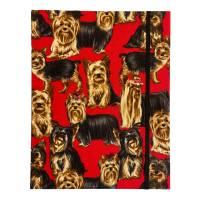 """Notizbuch Tagebuch Kladde """"Yorkshire Terrier"""" A5 Hardcover stoffbezogen Herrchen Frauchen Geschenk Fan Fanartike Bild 3"""